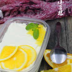 网红盒子橙香奶油蛋糕