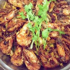 干锅鱿鱼虾-私房