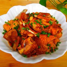 排骨烧油豆腐