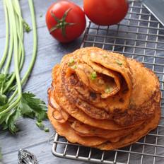 茄汁杂蔬煎饼