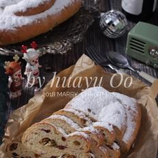 团聚的香气-圣诞史多仑面包