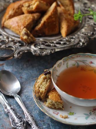 减脂小点-燕麦麸干果能量司康(神手法酵母版)的做法
