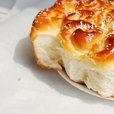 花朵面包:以后请送这盘美味的花儿给我