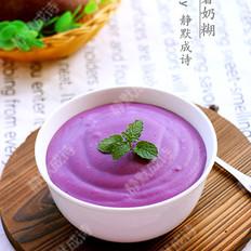 防衰抗癌的紫薯奶糊