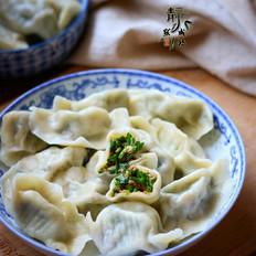 韭菜西葫猪肉饺子