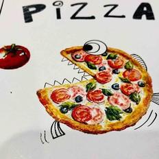 自做培根披萨饼