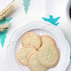 圣诞预热~黄油饼干