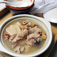粉葛龙骨汤