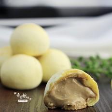 卡仕达酱爆麻薯