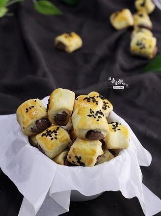 莲子红豆一口酥的做法