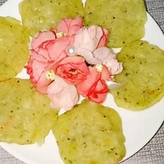 鲜虾薯泥饼