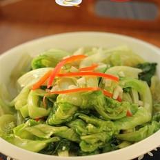 蒜蓉炒生菜