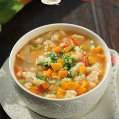 南瓜番茄疙瘩汤