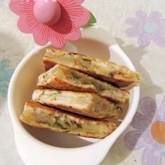 香葱火腿发面饼