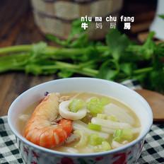 鱿虾汤年糕