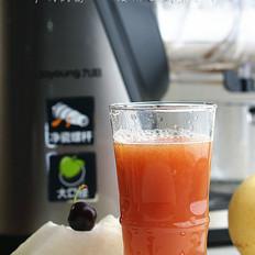 樱桃冬瓜梨子汁