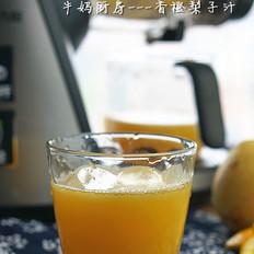 香橙梨子汁