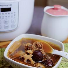 莲藕红枣牛骨汤
