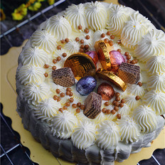 糖果奶油蛋糕
