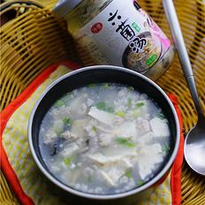 豆腐鲜肉六菌羹