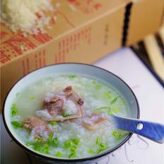 排骨胚芽米粥