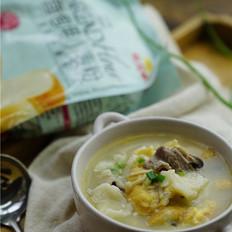 牛肉菌菇疙瘩汤