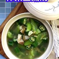 榨菜三蔬汤