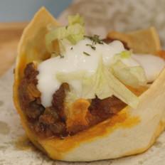 墨西哥牛肉玉米薄饼