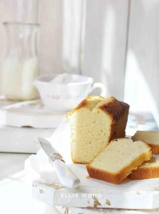 香草杏仁磅蛋糕的做法