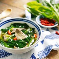 青菜猪肝汤的做法大全