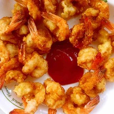 番茄酱对虾