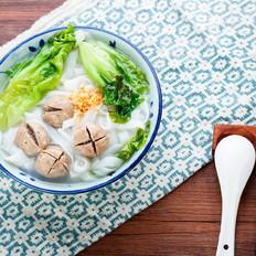 潮汕牛肉丸粿条汤