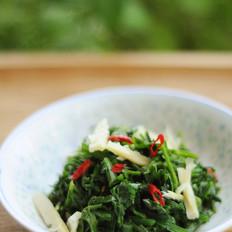 家乡的味道—凉拌水芹菜