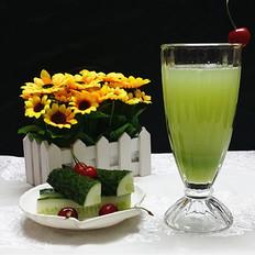 黄瓜蜂蜜汁