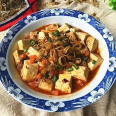 干贝边炖豆腐