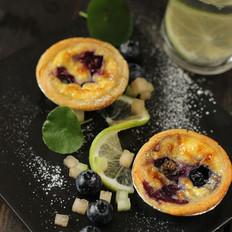 爆浆蓝莓蛋挞