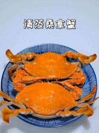 清蒸桑拿蟹的做法