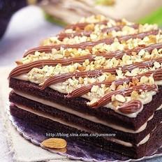 乳酪巧克力蛋糕