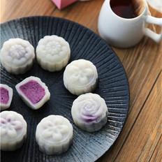 【人月两团圆】紫薯冰皮月饼