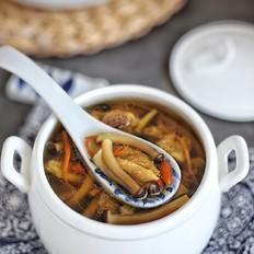 蟹味菇老鸭汤