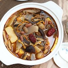 菌蔬豆腐香辣锅