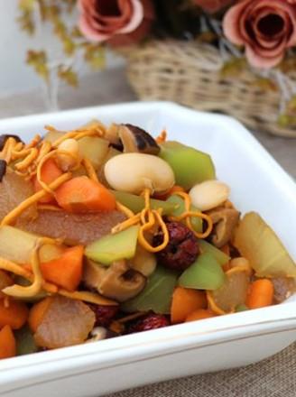 红烧蔬菜锅的做法