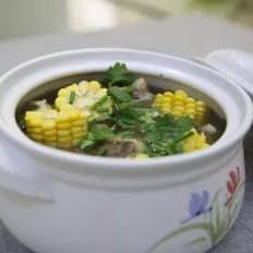 冬季养生-玉米猪骨汤