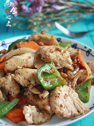 泰式黑椒鸡的做法