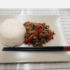 云南酸菜炒肉末