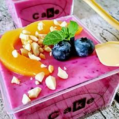 酸奶火龙果慕斯