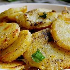 脆皮干锅黑椒土豆片
