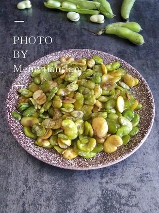 香酥蚕豆的做法