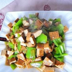 素炒豆腐干