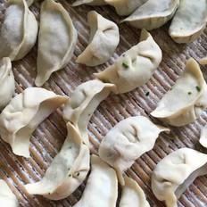 纯素荠菜饺子